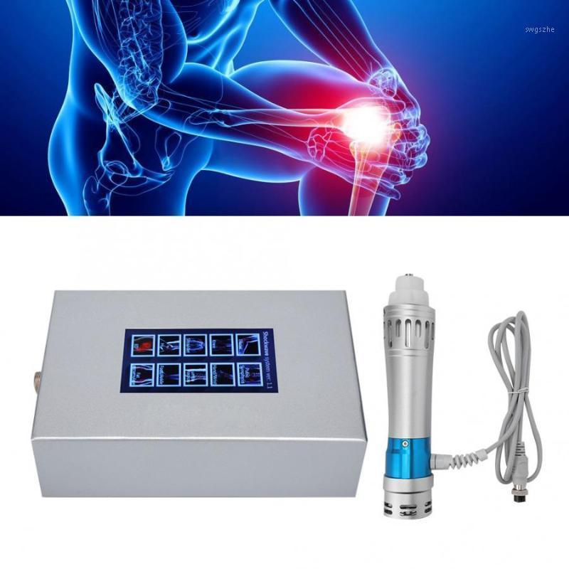 Vücut Relax Elektromanyetik Extracorporeal Shockwave Terapi Ed Ağrı Kazık Tedavisi Vücut Masaj Makinesi Gevşeme Instrument1