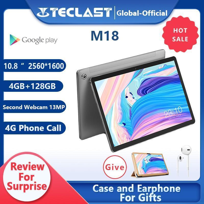 Tablet PC Teclast M18 Deca Core 10.8 Inch IPS 2560×1600 Resolution 4GB RAM 128GB ROM 13MP Rear 5MP Front 4G Network Call1