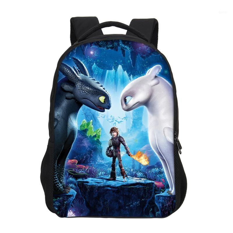 Mochila veevanv como treinar seu dragão 3d impressão mochilas para meninos meninas bolsas escolares adolescentes bookbag casual ombro bag1