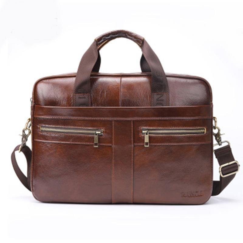 Мужские сумки мужские кожаные подлинные сумки мужчина ноутбук сумка натуральные кожаные мужские посыльные портфель для портфеля мужские 2020 года LJPDD