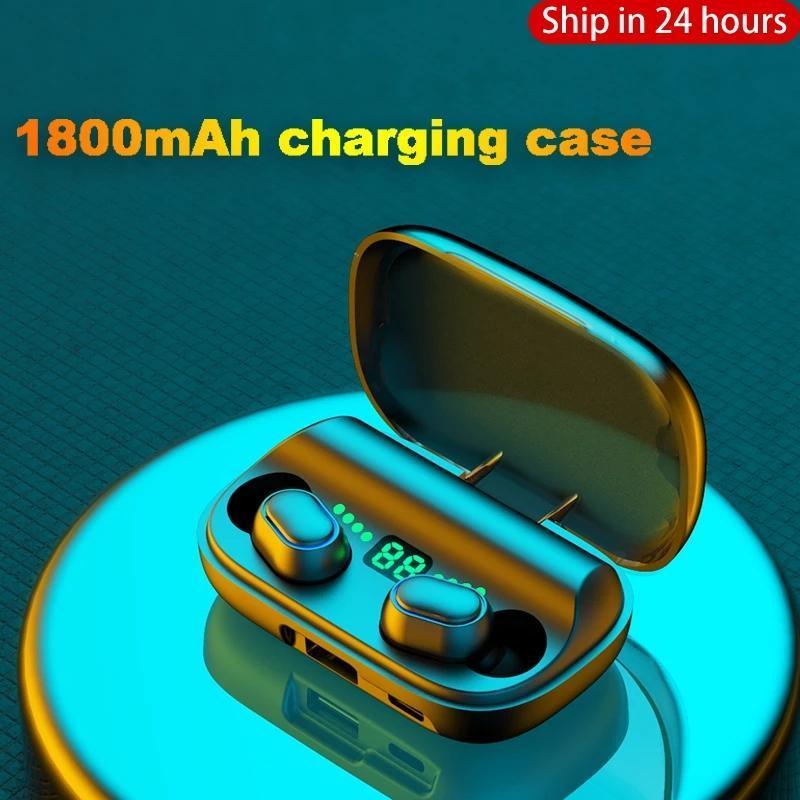 Ottwn Нового TWS T11 Bluetooth наушники Wireless шумоподавление Bluetooth 5.0 водонепроницаемых спортивные беспроводные наушники с Micphone