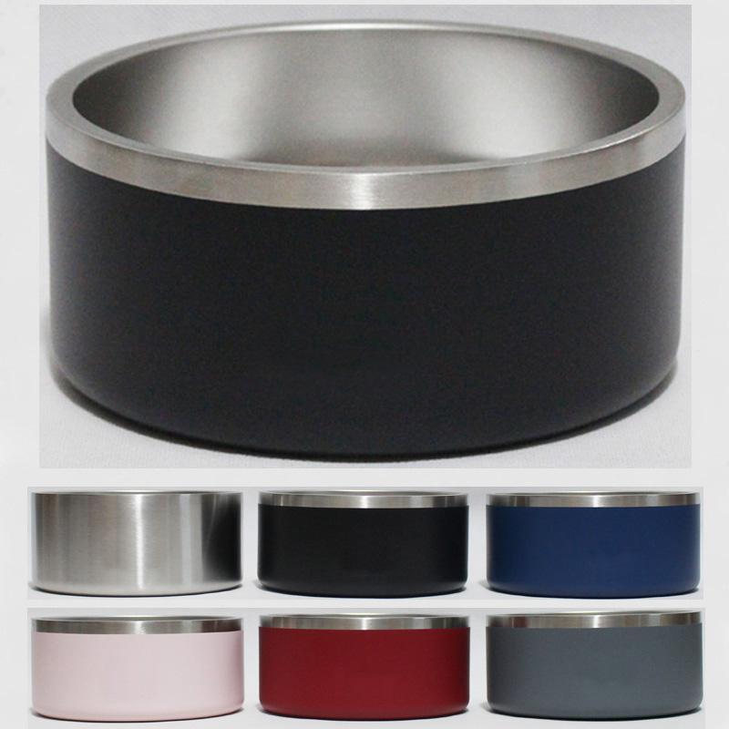 Boomer 4 Dog Bowl 32 oz inoxidável parede dupla em aço isolados a vácuo de grande capacidade 32 onças cão tigelas canecas