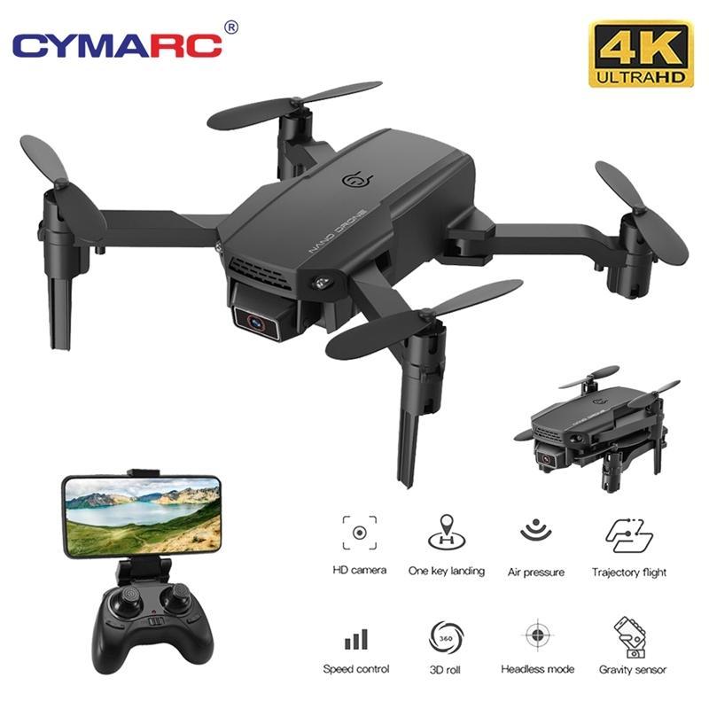 Cymarc KF611 Mini Drohne mit 4k HD-Kamera 1080P Wifi FPV RC-Drohne Halten Faltbare RC Quadcopter DRON E88 M73 XT6 201105