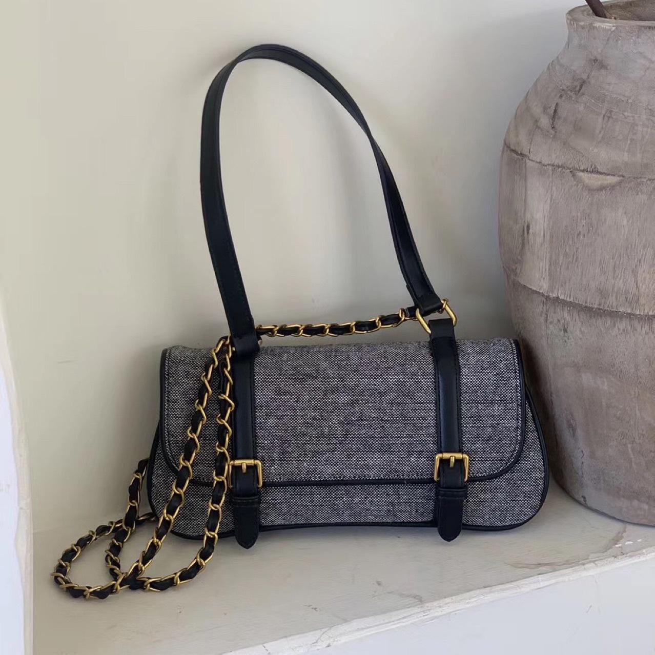 HBP Neueste Mode Baguette Taschen Frauen Geldbörse Umhängetasche Crossbody Bag Freies Verschiffen