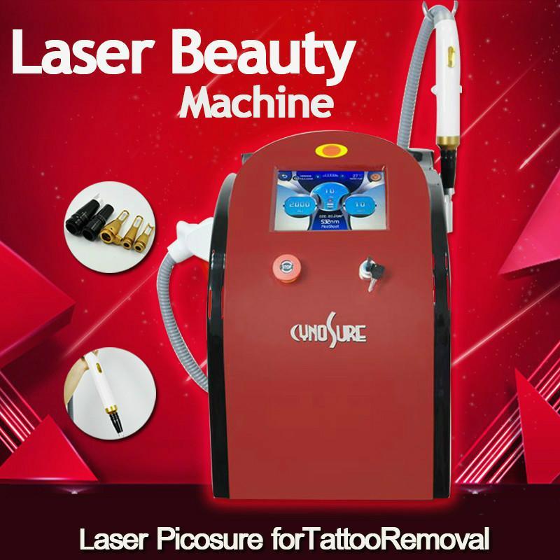 2020 Dhl Бесплатная доставка Picosecond лазер для татуировки зеленый и пятен Удаление Превосходя Назад Doll Лечение