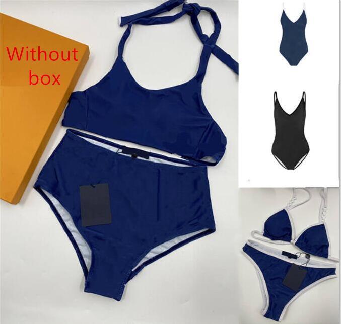 Womens Sexy Bikini Swimwear Fashion Classic Pattern Printed Beach Swimsuit Various Styles Close-fitting and Comfortable Women Underwear