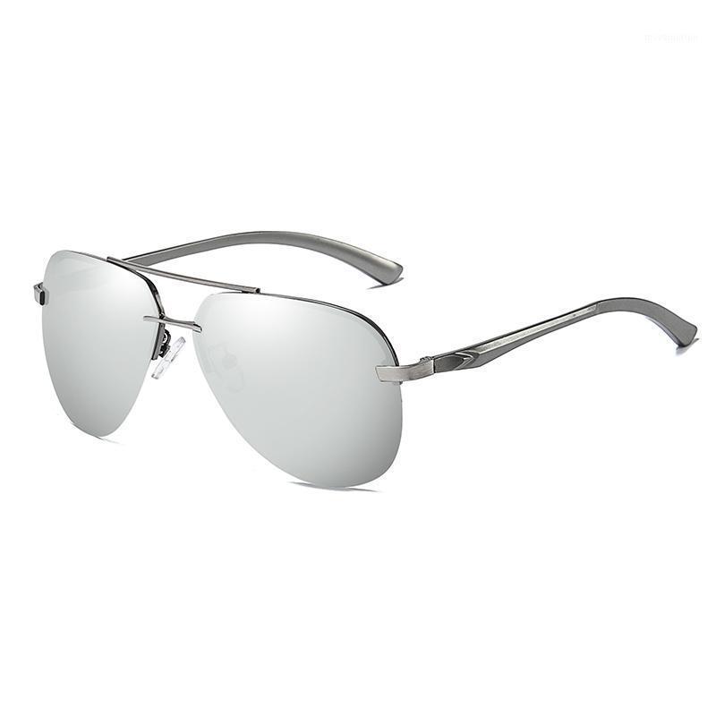 Lenti di modo Polaroid occhiali da sole 2020 retrò stile pilota uomo telaio materiale protezione materiale occhiali1 143 personalità in lega uv400 xoljj