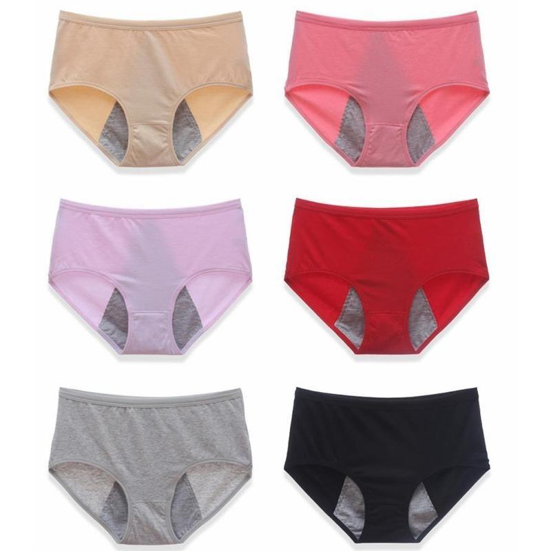 Menstrual Organic Physiological Pants Sexy Women Panties For Periods Waterproof Cotton Female Briefs