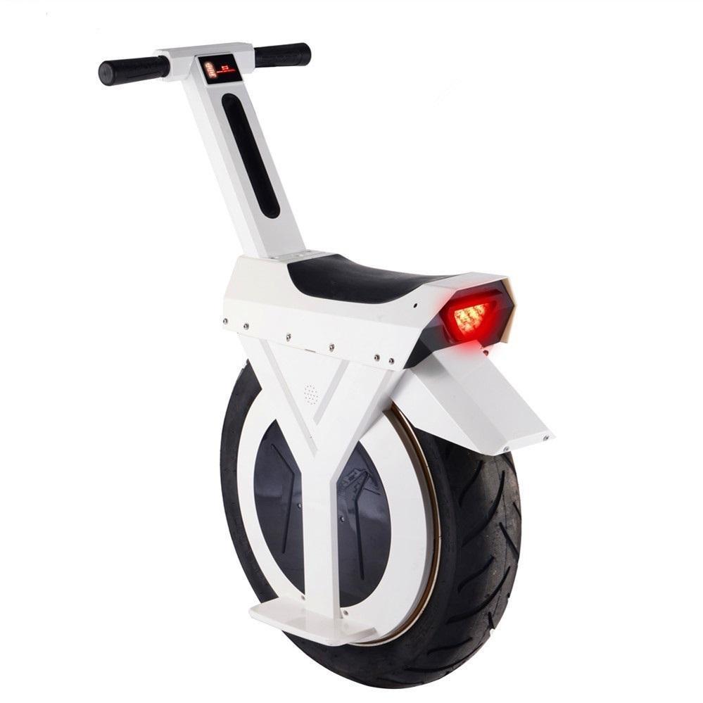 Monowheel Electric Unicycle Ein Rad 17 Zoll Elektrische Roller Motor 500 W 60V Elektrischer Monowheel-Roller für Erwachsene