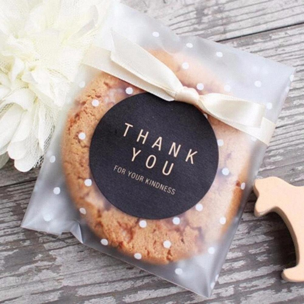 QIFU Plastic Transparent Cellophane Candy Cookie Gift Jewelry Bag Package For DIY Biscuits Snack Baking Wedding Birthday 5BJX#