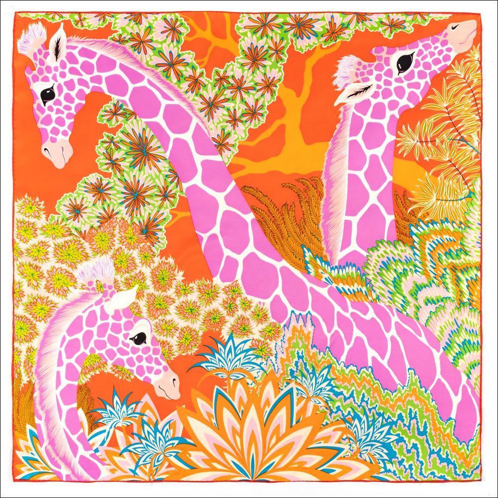Foulard de soie écharpe laminée à la main bord carré grand vintage col chanceux foulard Femme bandeau à double face Bandana bandeau