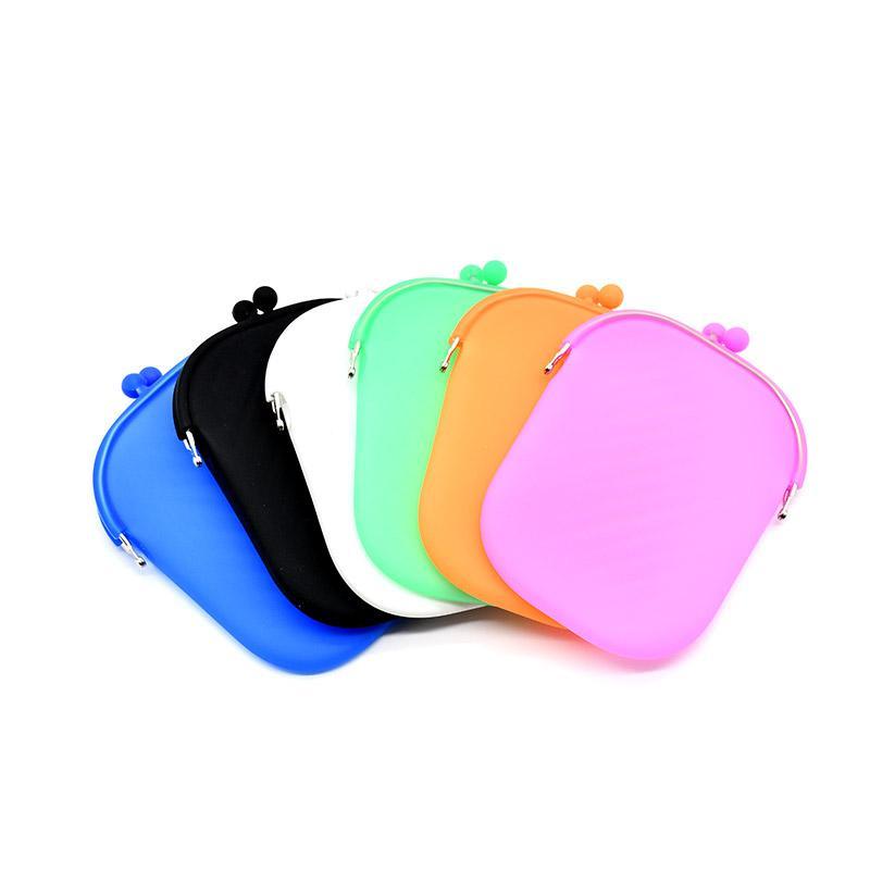 Bolsas de almacenamiento de alimentos de silicona de grado Cara portátil máscaras de silicona a prueba de polvo Organizador a prueba de humedad sostenedor de la cubierta del caso del maquillaje a prueba de agua bolsa