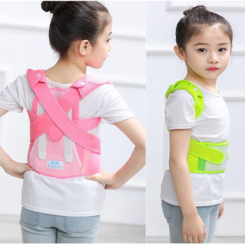 Orthèse de l'enfant, une ceinture, le support avant la colonne vertébrale, support d'épaule de ceinture