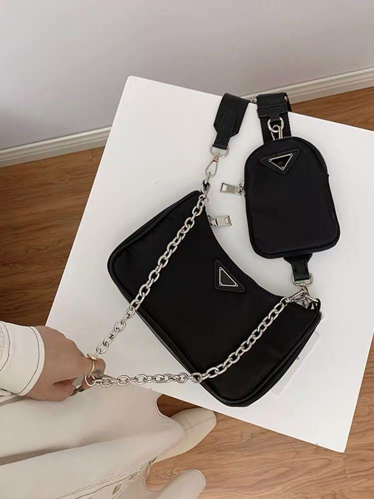 Sacs de luxe Sacs de luxe Sacs de haute qualité Sacs à main pour femmes Hobbody Two-tons Hobo 2021 Sac Plaine Fashion Portefeuille Hmolb