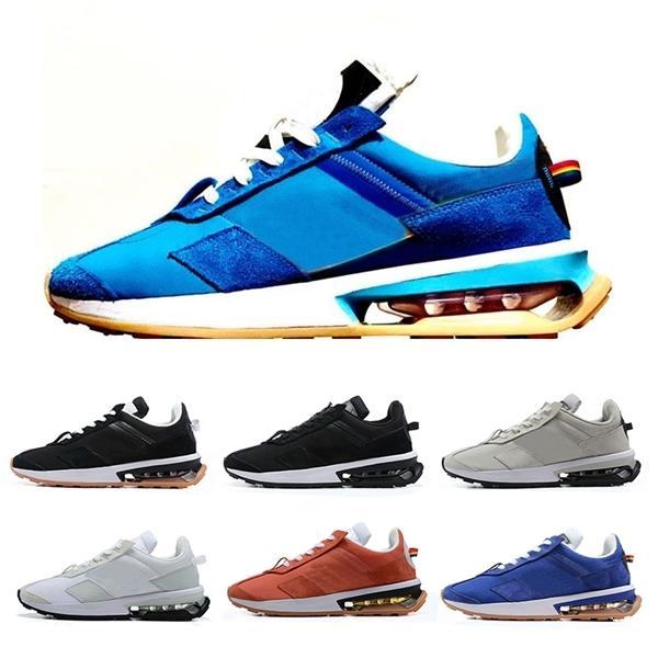 270 Pre-Day Mens scarpe da corsa Nero Bianco 270S Pre giorno essere vero arcobaleno nylon blu Waffle uomini donne scarpe da ginnastica sport progettista sneaker 36-45