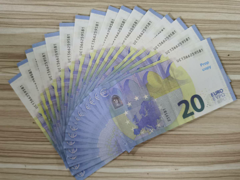 Movie jeu Bar Euro Prop Money Paper Designers Europ ProP Propièces Enfants adultes Copiez une scène spéciale Fake Prop devise jouet sacs-n vqfolfolfol