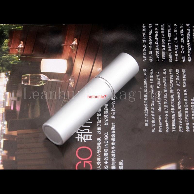 5ml vide rond de forme colorée lotion acrylique crème cosmétique conteneur de haute qualité essence essence pompe bouteille placardhigh Qualtitude