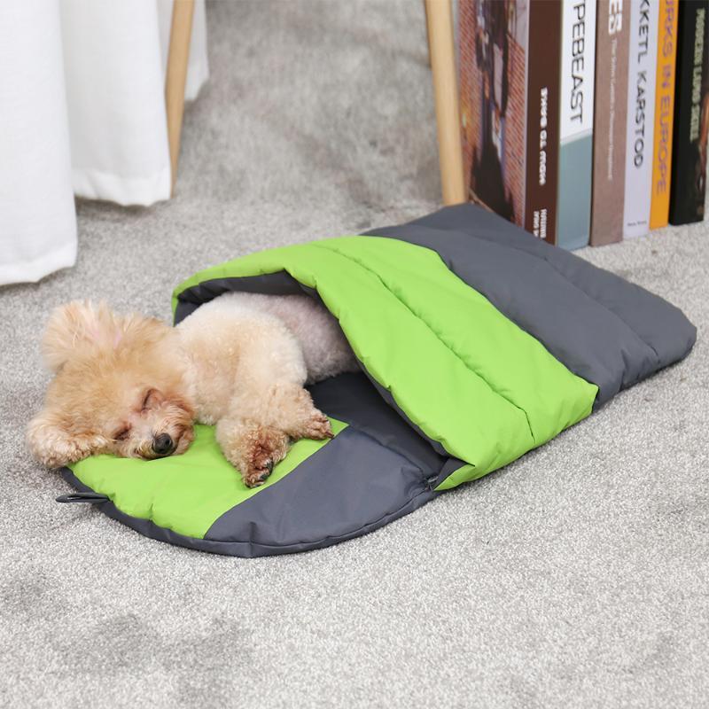 Cama de gato de estimação Cave à prova de água cama animal de estimação filhote de cachorro canil kennel cão matata almofada macio filhote de cachorro quente dormindo sofá ninho inverno casa deokw