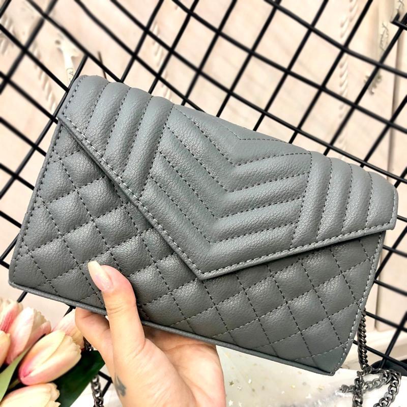 2020 нового высокого Qulity классического WOMENS сумочек дам европейский и американская сумка моды тотализатор кожи сцепление плеча женский кошелек