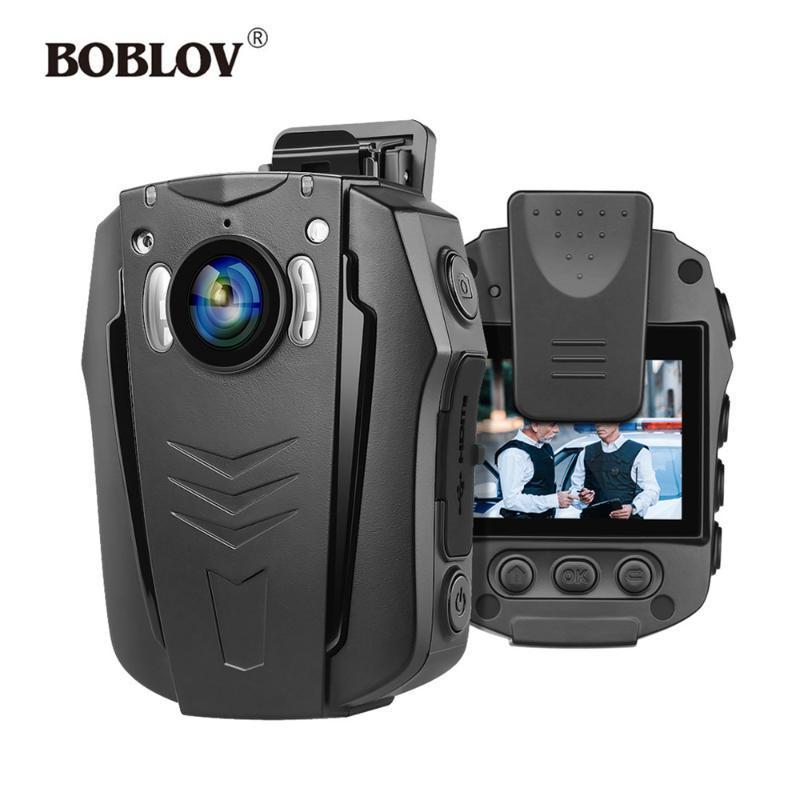 미니 카메라 BOBLOV PD70 와이파이 바디 카메라 1296P 웨어러블 야간 투시도 내장 메모리 소형 오디오 녹음