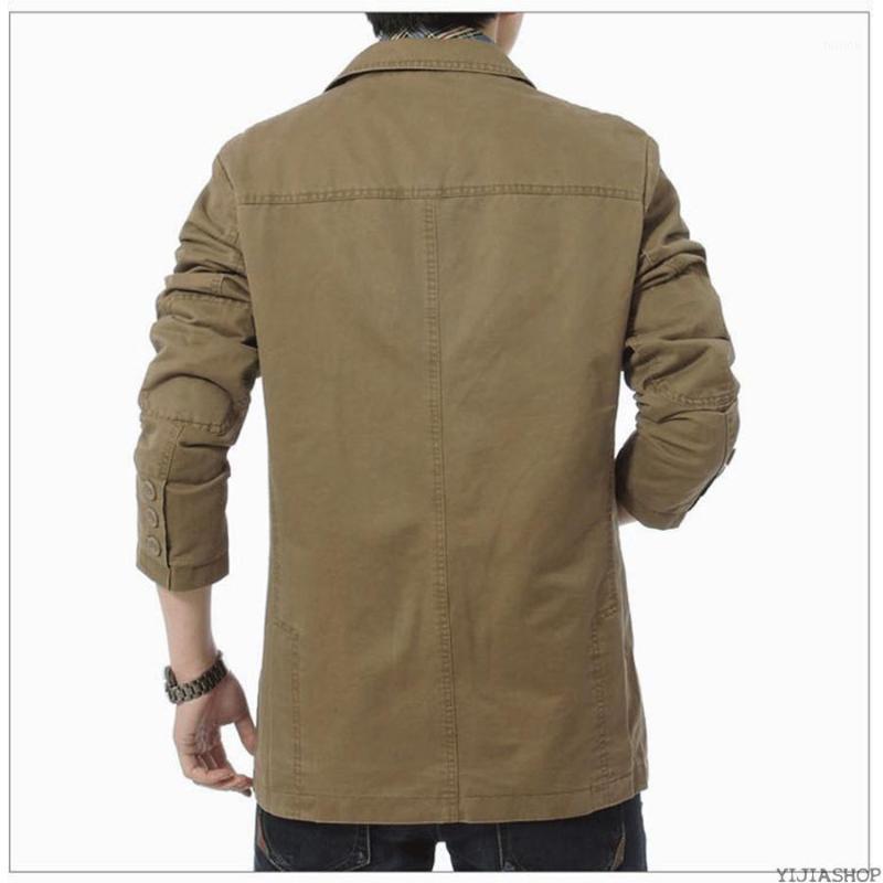 Новый весна тонкий костюм Blazer мужчины повседневный костюм шерсть коричневые мужчины случайные блейзер куртка Высококачественная куртка1