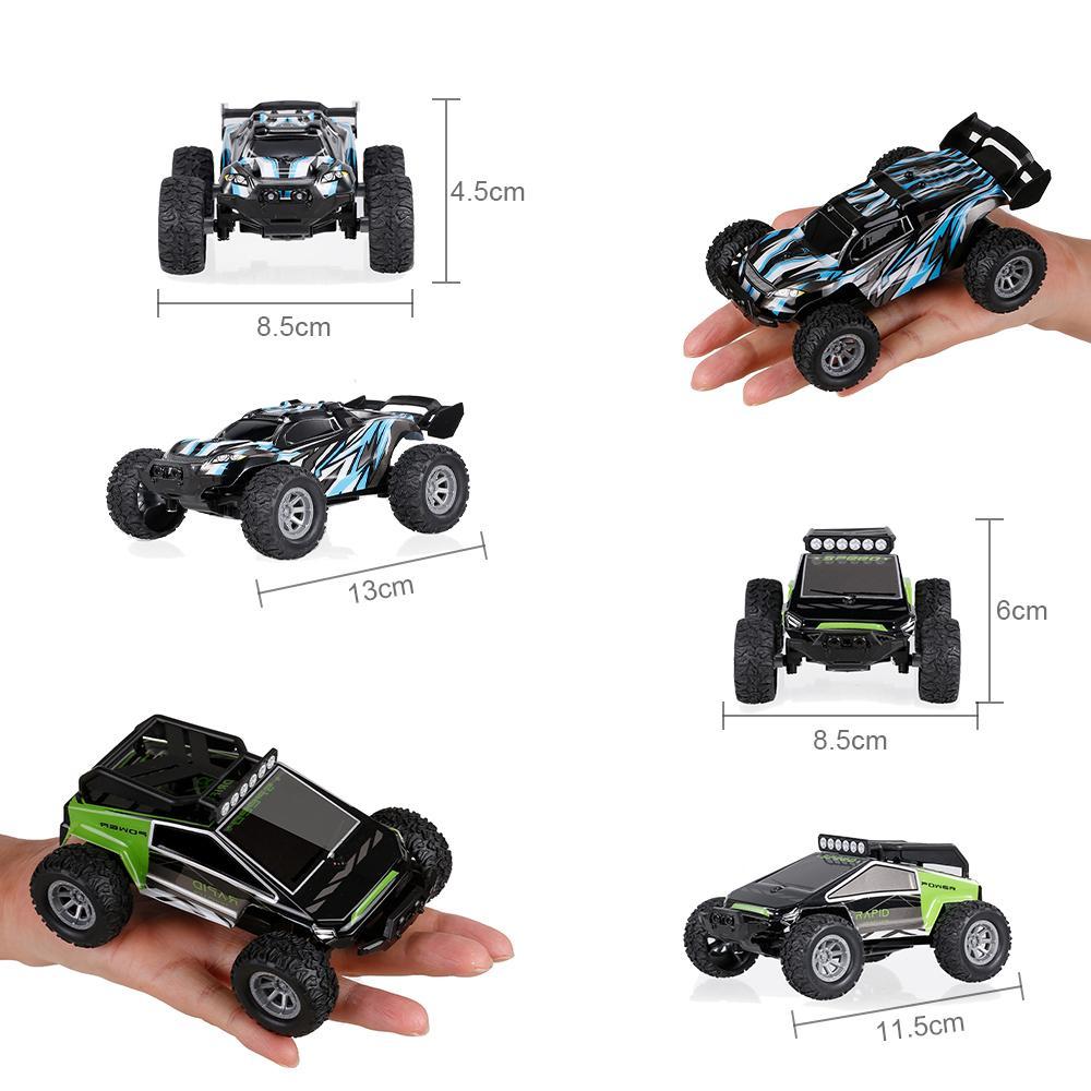 S638 RC Cars Мини-пульт дистанционного управления автомобилем для детей 2.4 ГГц 1:32 RC Car со светодиодным светом 20 км / ч высокоскоростной высококачественный гоночный автомобиль игрушки 201218