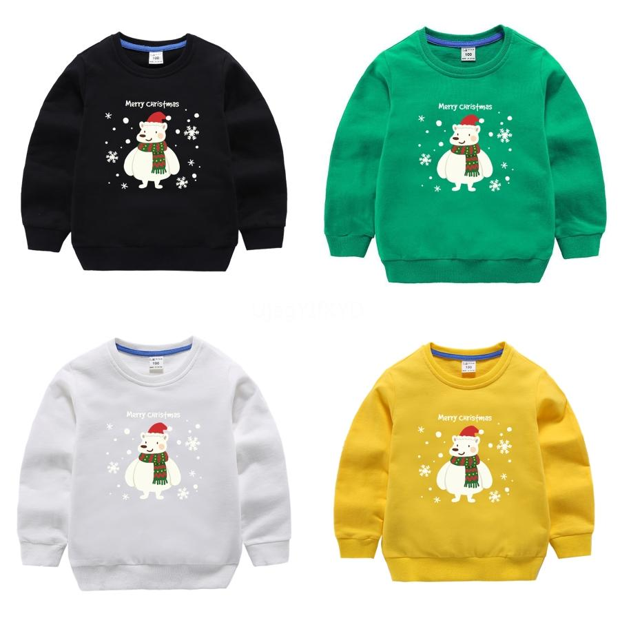 Hot Christmas Child Designer Pulls manches longues Mode Marque Automne Springclothing Lettre Broderie Pull Couple Pull # 732