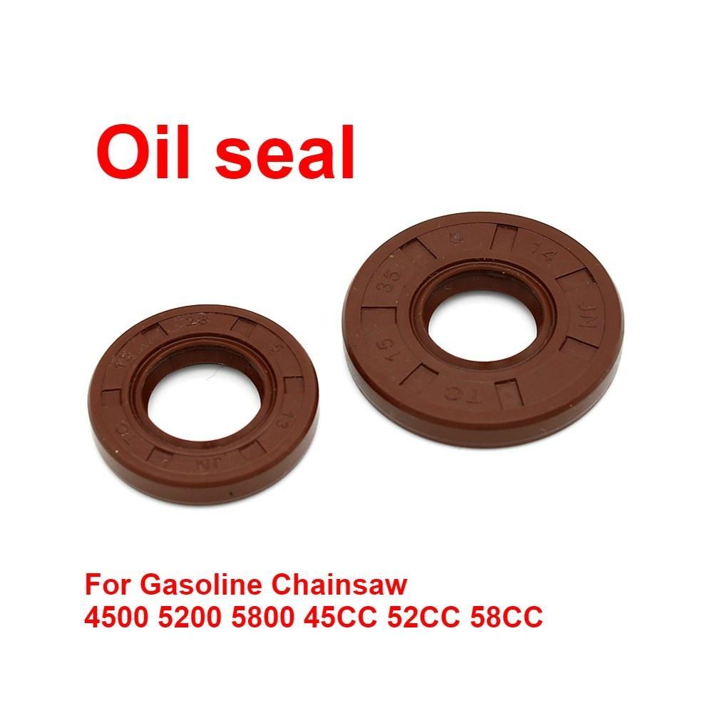 Sostituzione paraolio per la benzina Chainsaw 4500 5200 5800 45CC 58CC 52cc