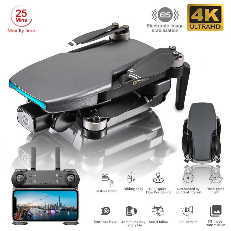 2021 New Gps Drone SG108 With HD EIS 4K Camera Professional Brushless Motor Foldable Quadcopter RC Drone Toy Gift