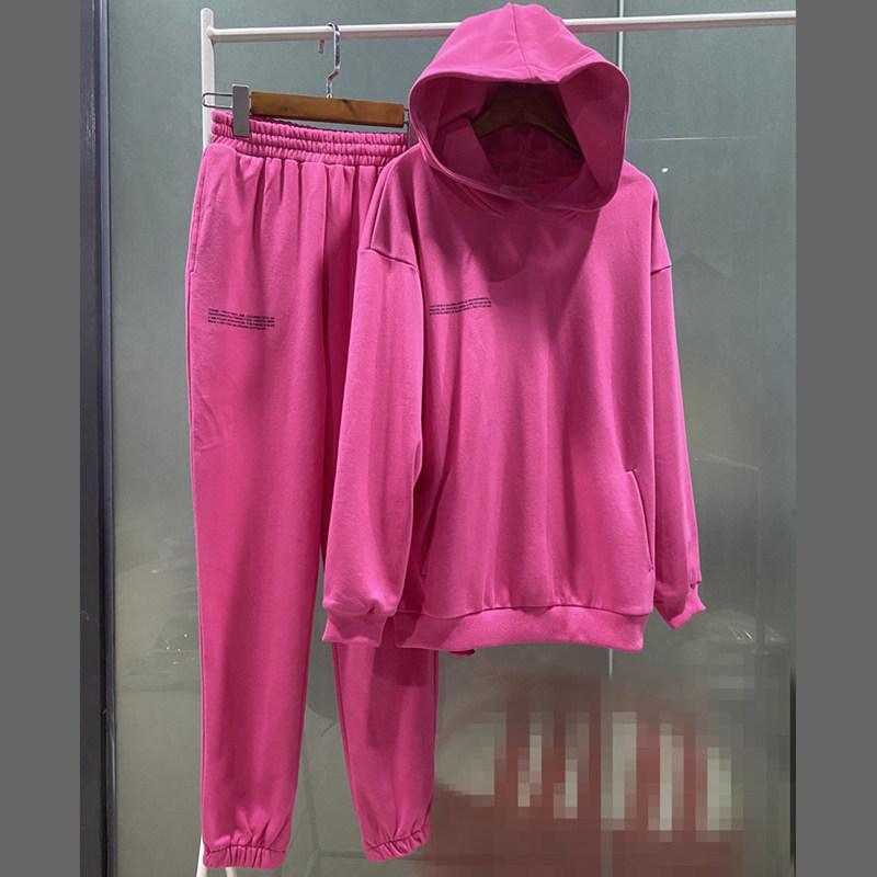 Новая женская спортивная одежда, осень / зима 2020, свитер с капюшоном, женский повседневный тонкий спортивный костюм