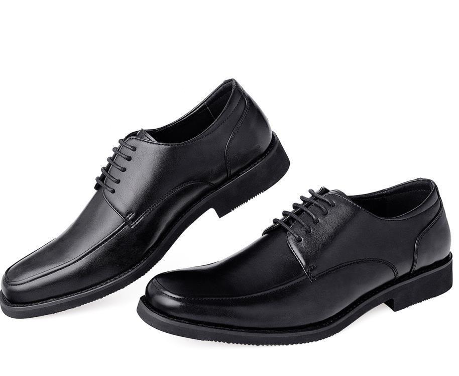 GM Golaiman homens casuais sapatos de couro rendas para cima calçados formais Toe Toe Oxford sapatos de alta qualidade Esportes de negócios Sneakers