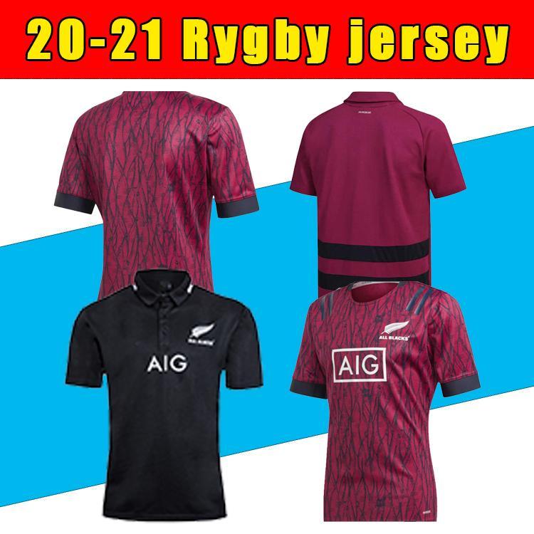 2021 Nova Chegada Todos os Preto Super Rugby Jerseys Sevens Rugby Camiseta Maillot Camiseta Maglia Alta Qualidade Rugby Jersey S-5xL