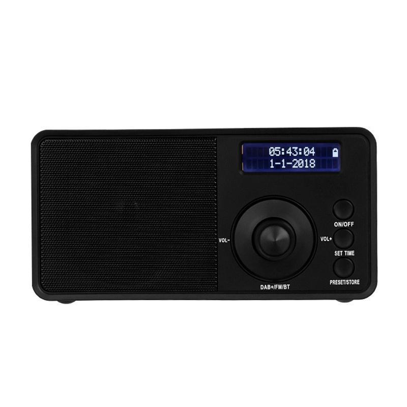 Stereo fm sem fio da fm da sensibilidade do rádio Digital Dab para a casa do acampamento exterior