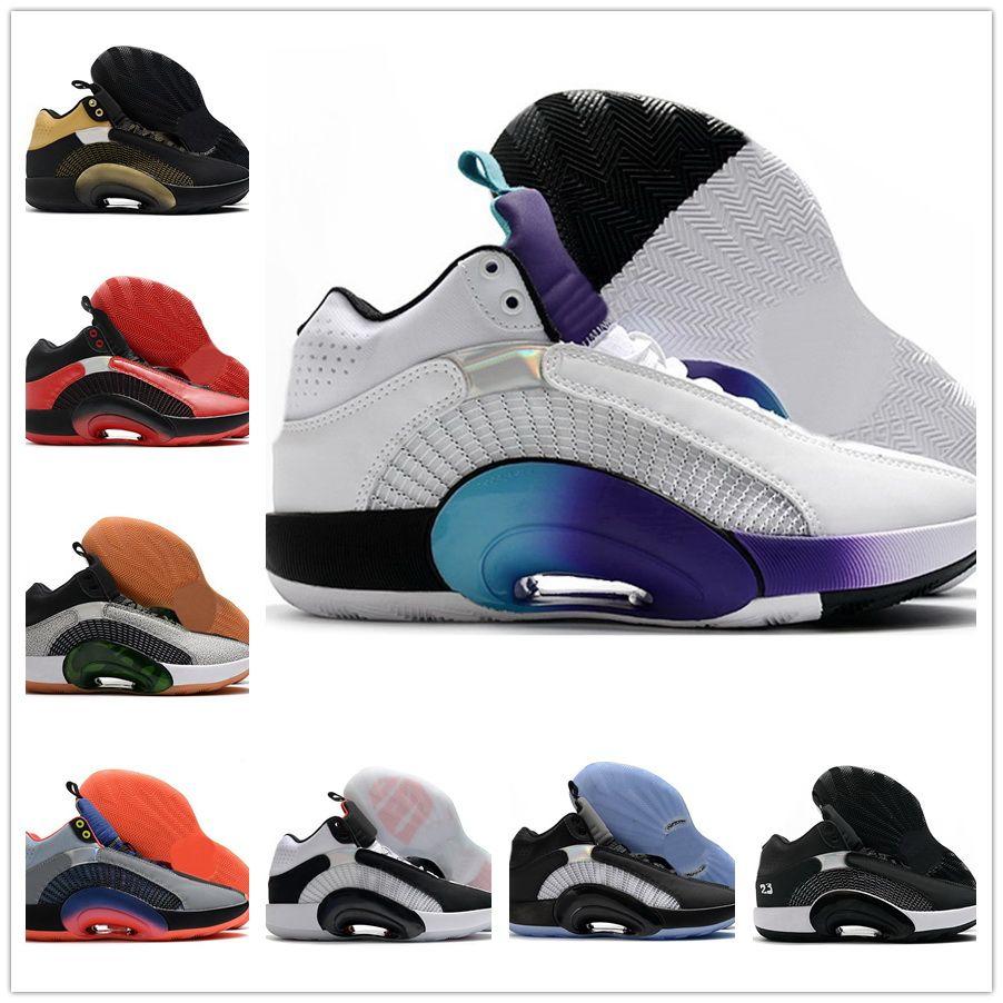 35 XXXV 2.0 scarpe da basket 2020 Centro di gravità della gravità Cultura del WIP e una scarpa funzionale Chicago 35 Yakuda Training Sneakers Sport Best