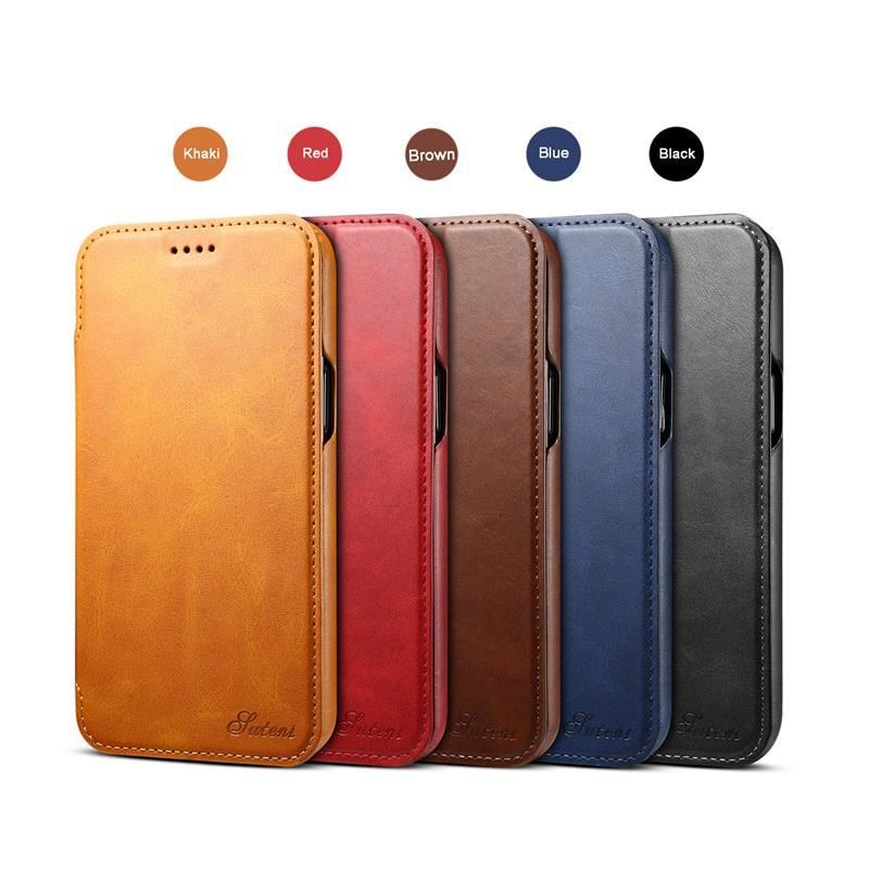 Yeni iPhone 12 12Pro 12Promax 12mini En Kaliteli PU Deri Iş Tarzı Cüzdan Kılıf Ile Kart Sahibinin Ile Iphone 11x6 7 8 Samsung S10