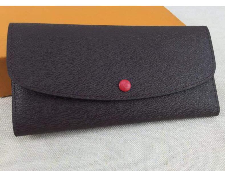 L153 Designer Brieftasche Luxus Brieftasche Designer Luxus Geldbörsen Karteninhaber Frauen Geldbörse Echtes Leder Wallet Lady Damen Lange Geldbeutel