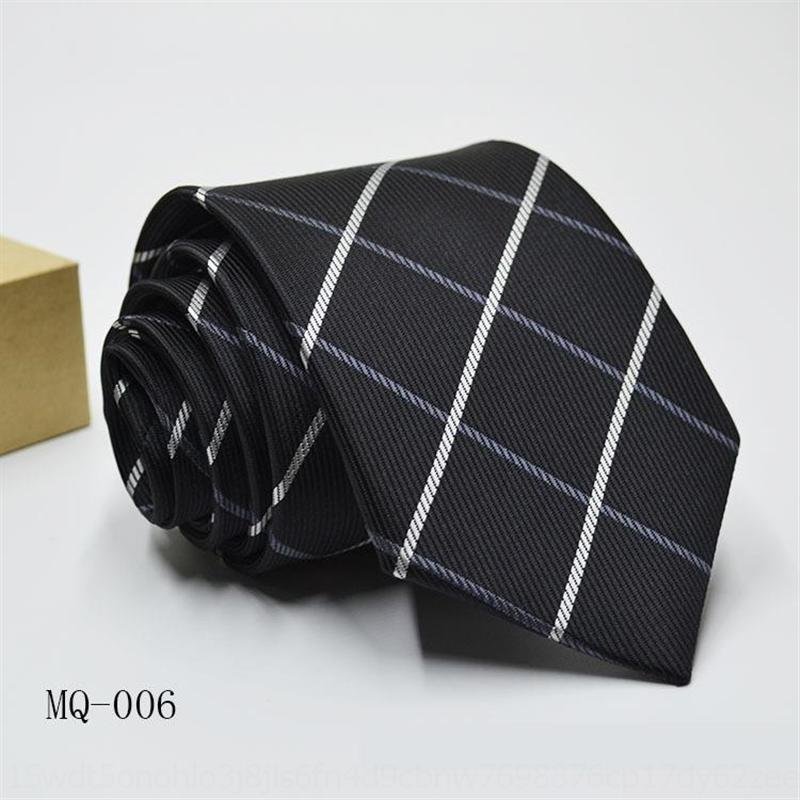 Gmv8h homens de poliéster de negócios formal terno formal 8cm homens de poliéster jacquard jacquard tie formal terno formal 8cm laço