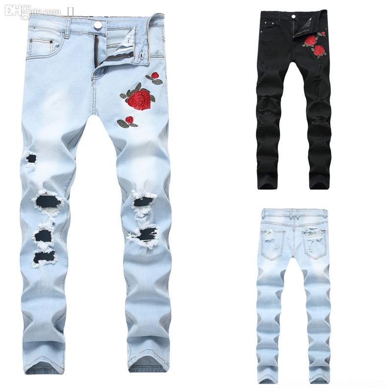 Z3NDW Mens Coloré Vintage Vintage Men's pour hommes Slim Fit Taille de la plage Rétro Nouvelle marque Uomo Denim Brand Jeans Jeans pantalons