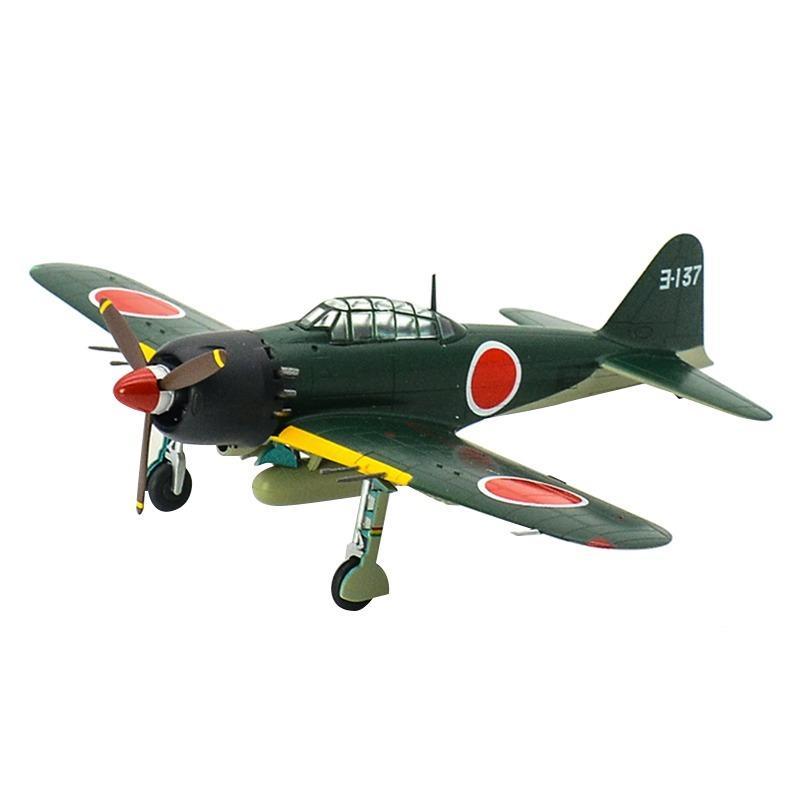 1:72 A6M Нулевой самолеты Второй мировой войны ВМС Тип 0 носителя истребитель преднастроенного хобби коллекционная законченная пластиковая модель