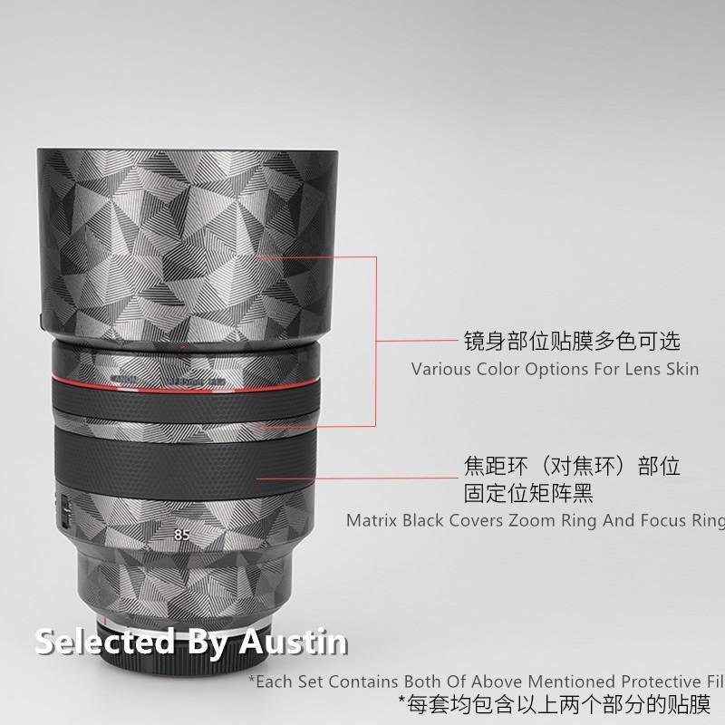 Lens Decalque Pele Enrole Film Protector Para RF85 1.2 Anti-zero Etiqueta