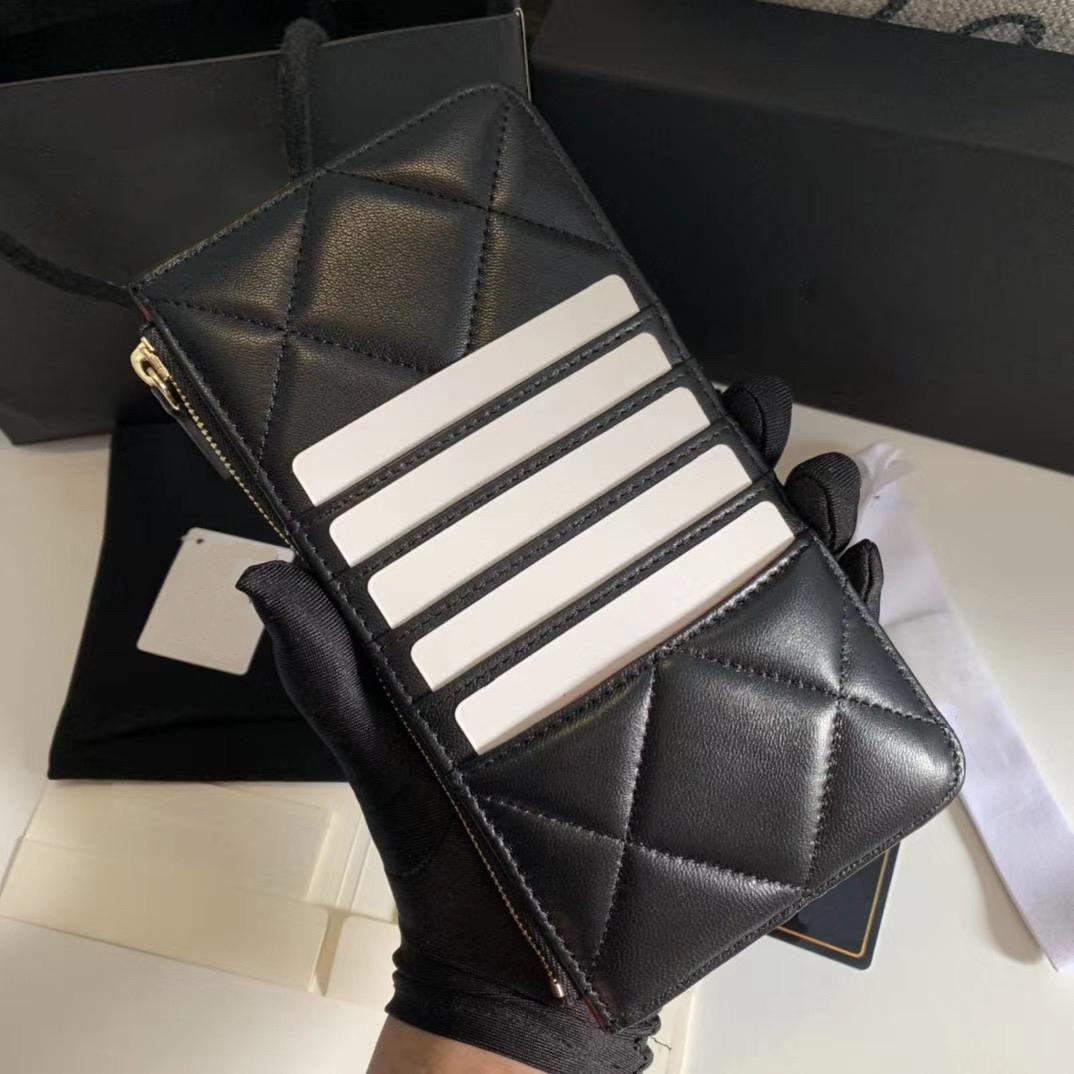 Nouvelle boîte à portefeuille portefeuille portefeuille portefeuille avec support Véritable Quality Womens Meilleur Crédit PureSe 93 Mens Passport Designers luxu rvxlv QRRT