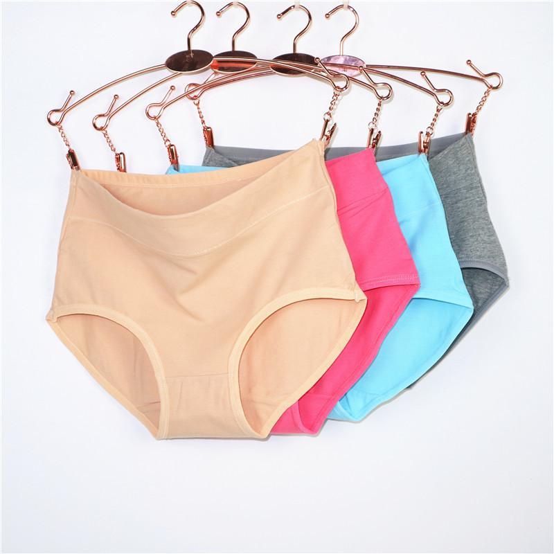 2021 Winter Intimates Mutandine da donna Pure puro cotone Ma'am in mutande Slip per donna a colori solidi