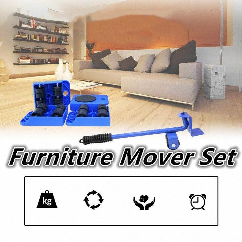 Meubles Mover Meubles Lifter lourd rouleau professionnel outil Déplacer la barre de réglage de roue Mover Sliders Transporter Kit Trol 3BcW #