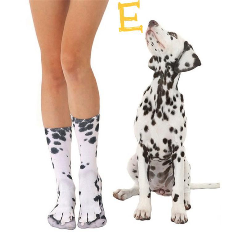 3D جديدة الجوارب النساء الرجال في سن المراهقة الفتيان الفتيات المطبوعة القدم الحيوان حافر للجنسين جوارب للأطفال لينة مرنة عالي 3D الجوارب القطنية لوح التزلج الغريب