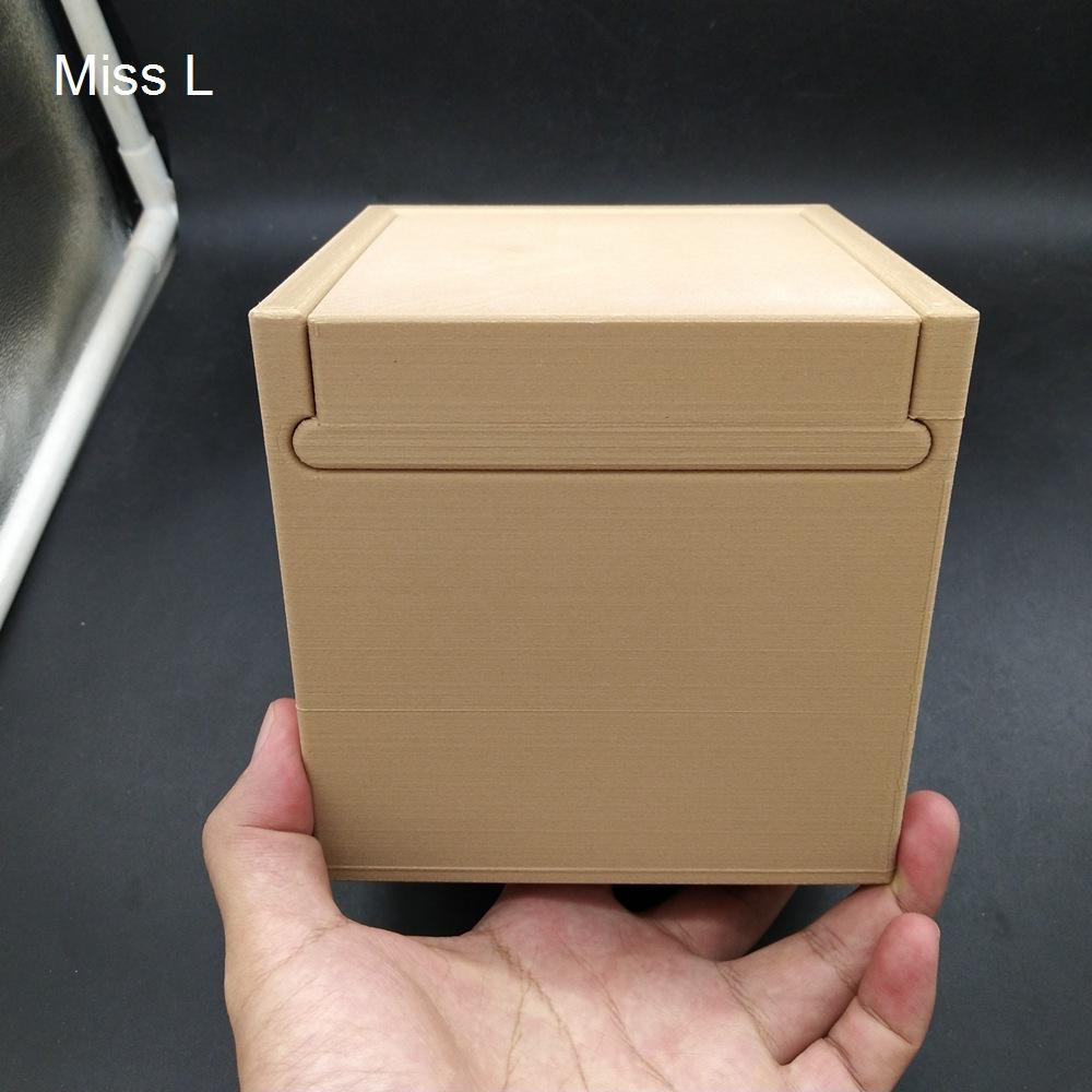 13 * 13 * 13 سم الصعبة السرية مربع الدماغ دعابة لعبة هدية الاستخبارات لغز لعبة PLA المواد