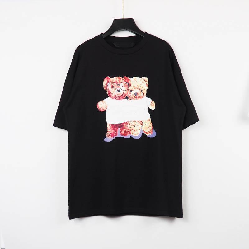 Nuevos diseñadores para hombre para mujer camisetas para hombre París Camiseta de la moda de la moda de la calle Tshirts de la manga corta de la calle Tshirts asiático S-XXL