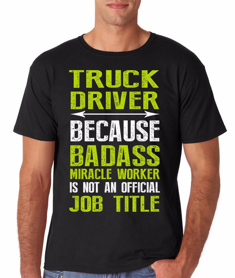 's designer brand new short sleeve Sleeve Tops Truck Driver Trucker Occupation Funny Novelty Gift Hooded Sweatshirt Hoodie men t shirt