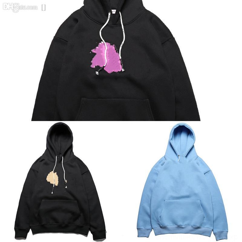 2L8PL верхние мужские толстовки мода мужская толстовка пальто расширенный дизайнерская куртка длинная линия хип-хоп улица Minecraft мода капюшон камень и