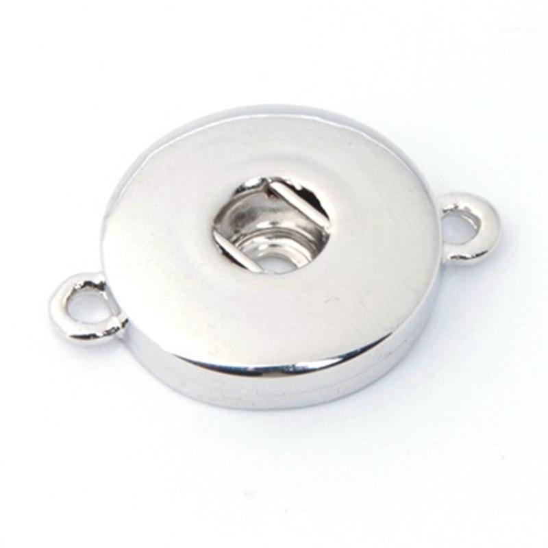 Commercio all'ingrosso-10pcs / lot Jewelry intercambiabile FAI DA TE 18mm Ginger Snaps Gioielli Metallo Pulsante Snap Braccialetti Collana ZJ14651