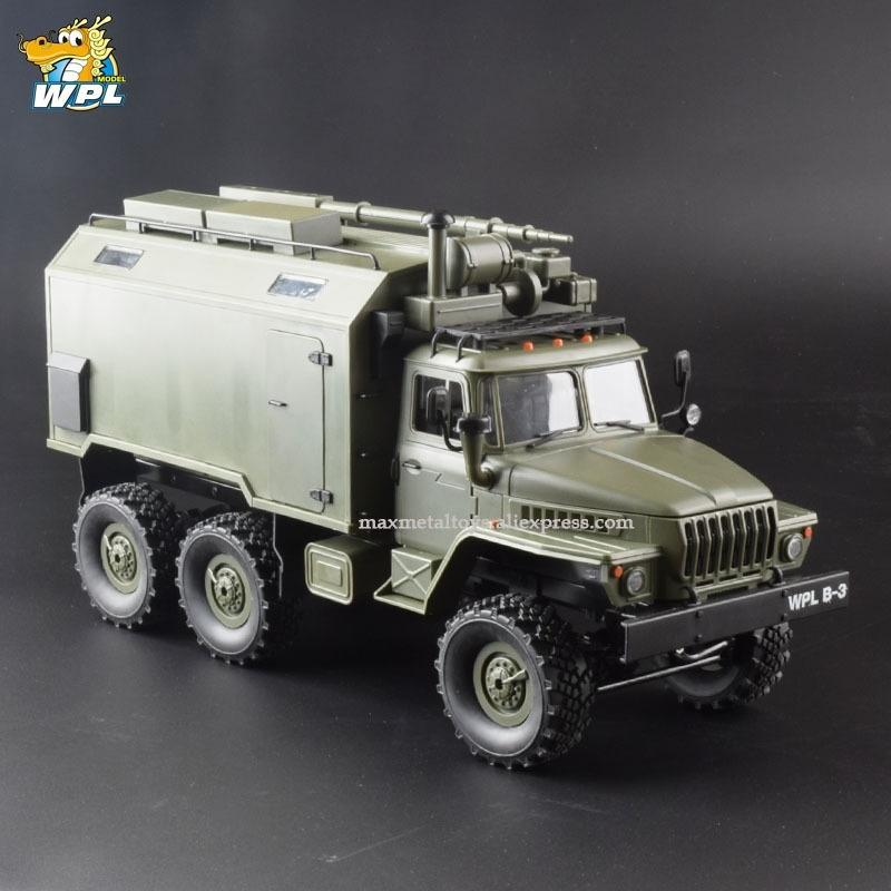WPL B36 1:16 RC سيارة 2.4 جرام 6WD العسكرية شاحنة مجنزرة القيادة مركبة الاتصال المركبات RTR لعبة carrinho de controle Y200413